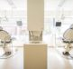 Inside clinic offering veneers in Glasgow with two dentist chairs